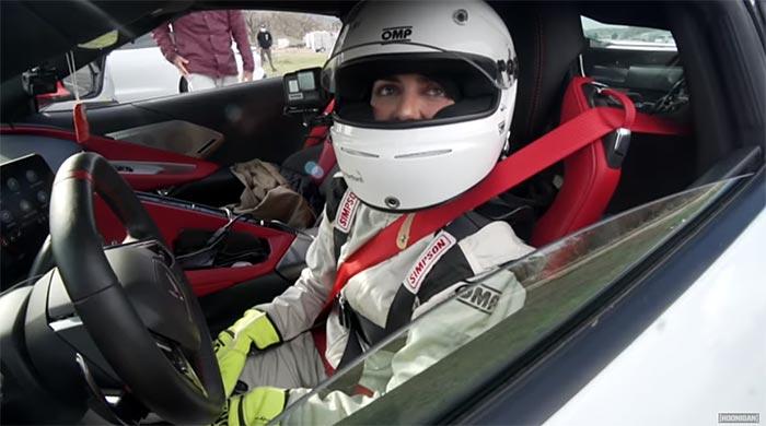 [VIDEO] Electric Porsche Taycan vs Emelia Hartford's World Record C8 Corvette
