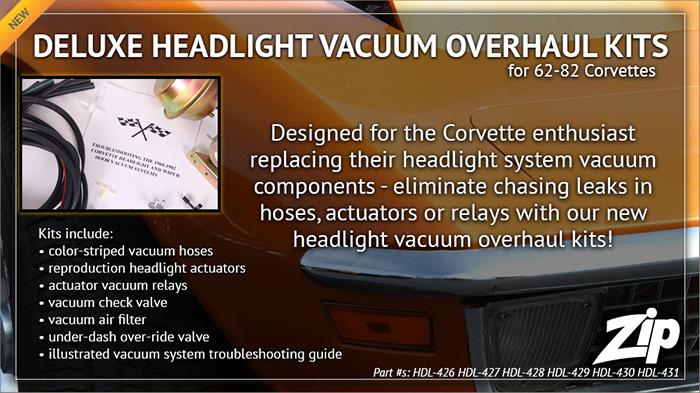Upgrade Your 1968-1982 Corvette Headlights with Zip Corvette