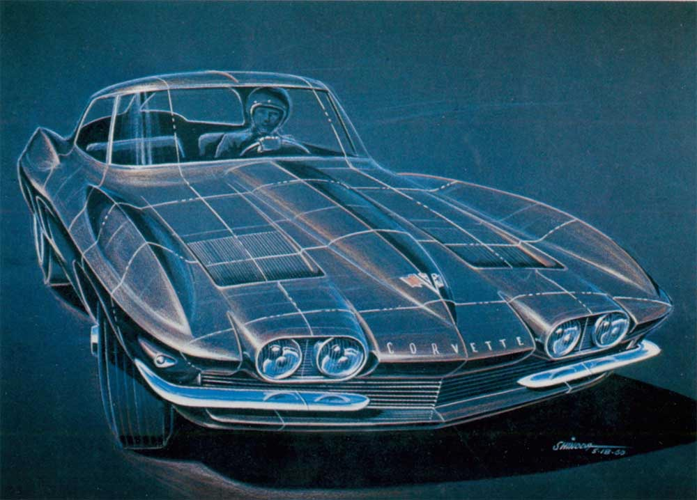 Corvette proposal from 1960