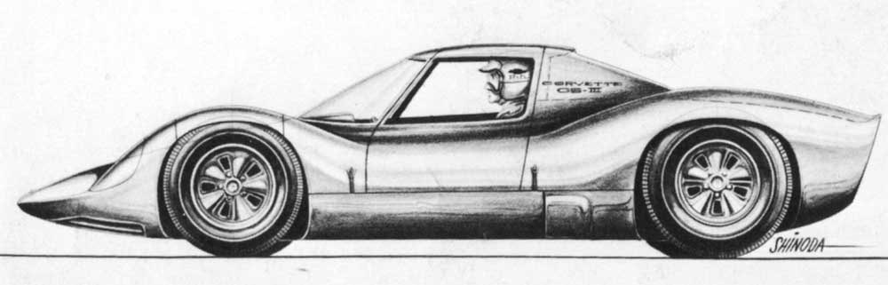 Sketch of coupe version of GS-IIB
