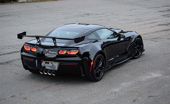 Corvettes for Sale: 65 Mile 2019 Corvette ZR1 Asks $200K