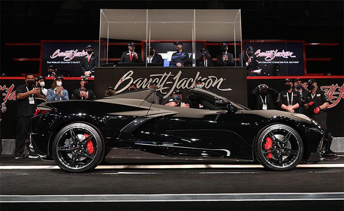 First Retail 2020 Corvette Convertible Raises $400,000 for Charity at Barrett-Jackson Scottsdale