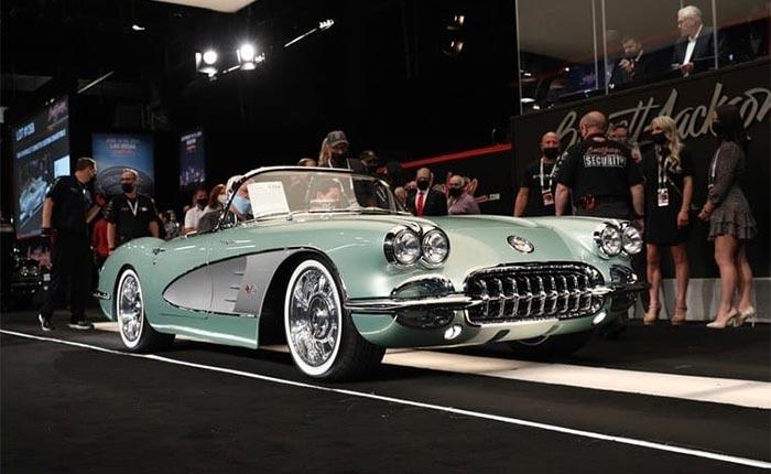 Kevin Hart Pays $825K for a 1959 Corvette Restomod at Barrett-Jackson Scottsdale