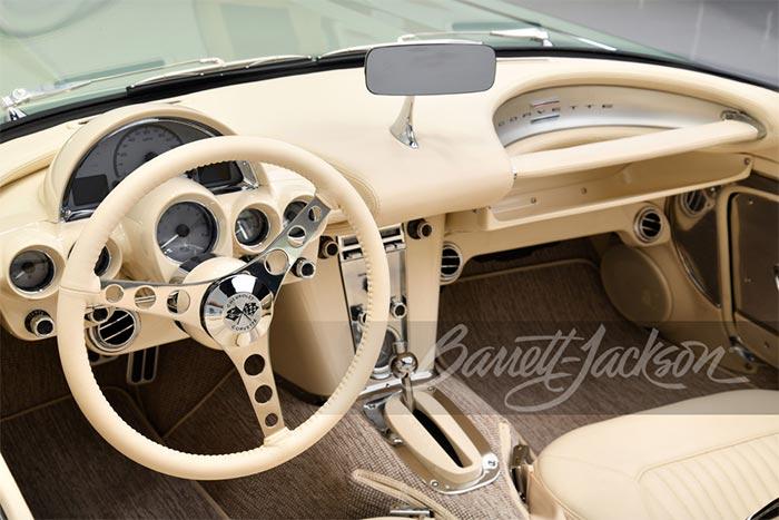 Kevin Hart Pays $825K for a 'Mint' 1959 Corvette Restomod at Barrett-Jackson Scottsdale