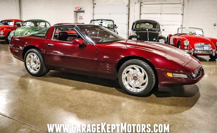 1993 Corvette ZR-1 40th Anniversary Edition
