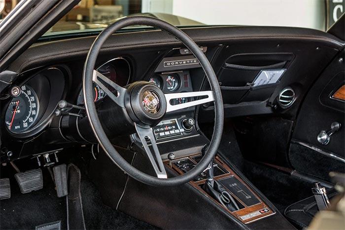 Corvettes for Sale: Survivor 1972 Corvette on Bring A Trailer with Cool Backstory
