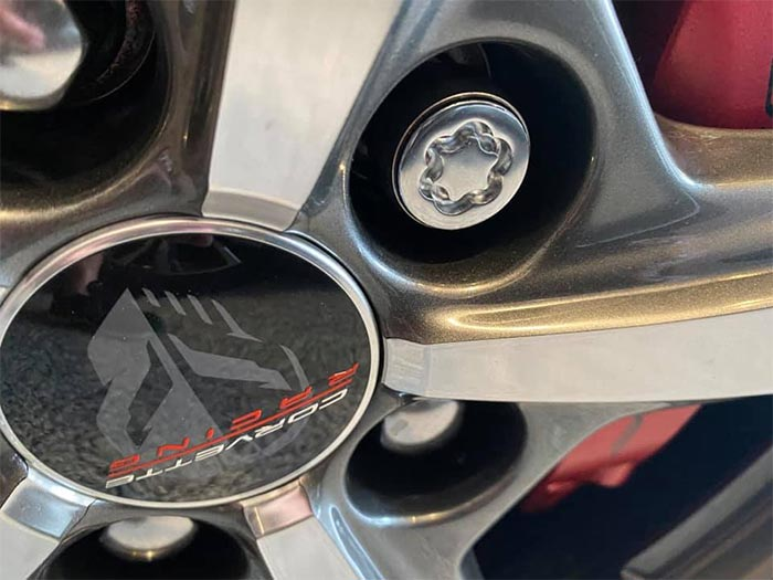[PICS] A Closer Look at the C8 Corvette's Ultra High Security Wheel Locks