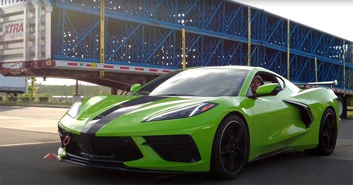 [VIDEO] C8 Corvette Takes on a Porsche Cayman S on the Autocross