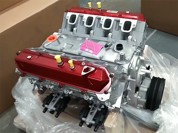 [VIDEO] Corvette Mechanic Paul Koerner Receives the LT2 Engine Block