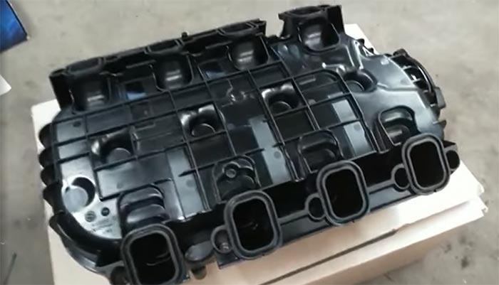 [VIDEO] The Corvette Mechanic Paul Koerner Receives New Manifold for C8 Engine Swap