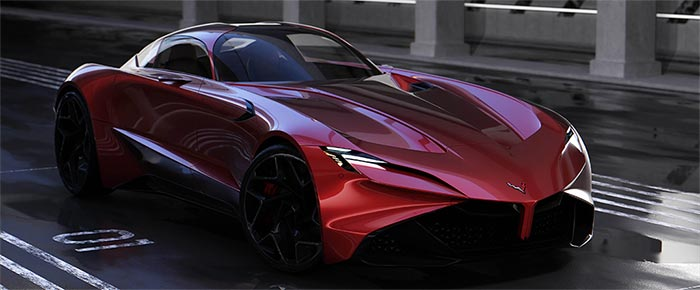 [PIC] GM Designer's Personal Project 'Neovette' is a C9 Hybrid Grand Tourer