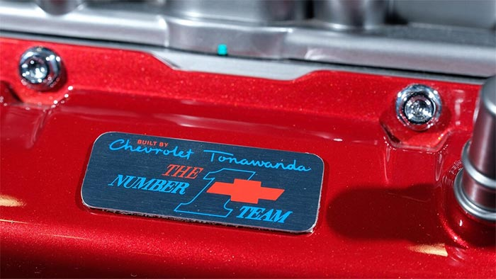 Tonawanda #1 Team Badges Now Available for Order From the Chevy Parts Counter