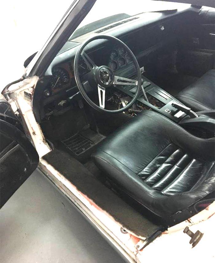 Corvettes on Craigslist: 1975 Corvette with Eckler's Widebody Kit