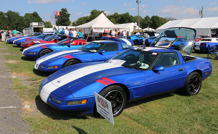 Corvettes at Carlisle to Celebrate the 25th Anniversary of the 1996 Grand Sport