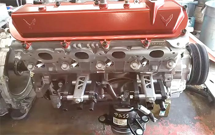 [VIDEO] The Corvette Mechanic Paul Koerner on Mating the Tremec DCT to the LT2 V8 Engine