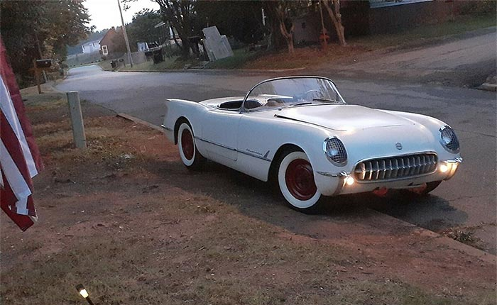 Corvettes on eBay: Original, Unrestored 1954 Corvette Barn Find Was Parked for 51 Years