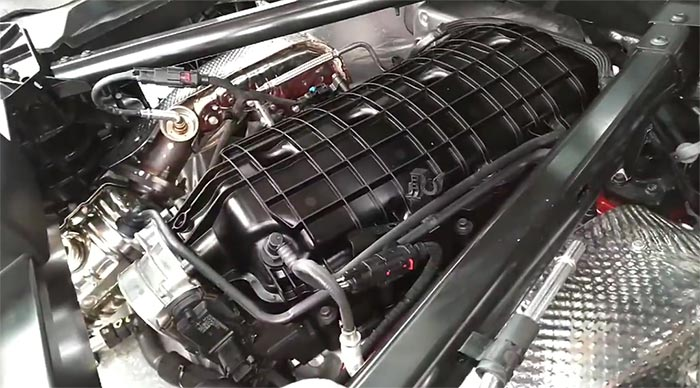[VIDEO] The Corvette Mechanic Paul Koerner Has the Replacement LT2 Engine Back in the Car