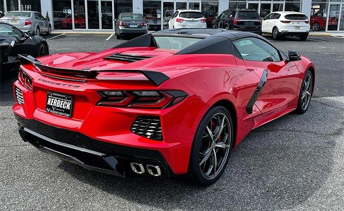 Corvette Dominates Luxury Sport Market with 51 Percent Market Share in 1st Quarter 2021