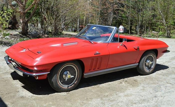 Corvettes on eBay: Former Barn-Find 1966 Corvette 427 Restored to Greatness