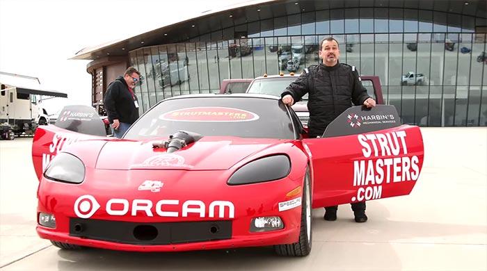 Blind Corvette Racer Set to Challenge World Speed Record in a C6 Corvette