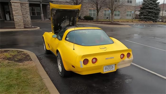 [VIDEO] Former 1980 Corvette Field Car Completes 700 Mile Road Trip During a Blizzard