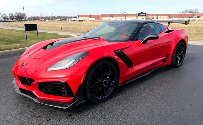 2019 Corvette ZR1 in Torch Red