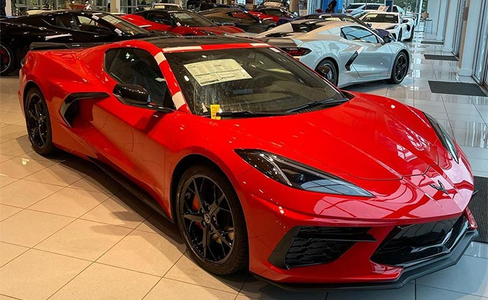 Corvette is the Fastest Selling New Car for the Third Consecutive Month
