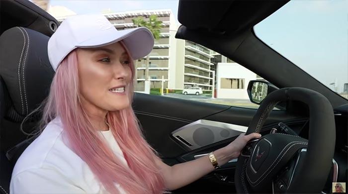 [VIDEO] Supercar Blondie is a Fan of the C8 Corvette