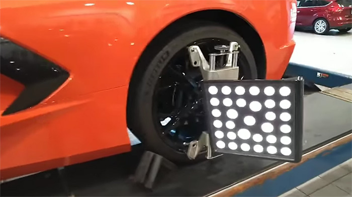 [VIDEO] Corvette Mechanic Paul Koerner Finishes the C8 Engine Swap with a Fresh 4-Wheel Alignment