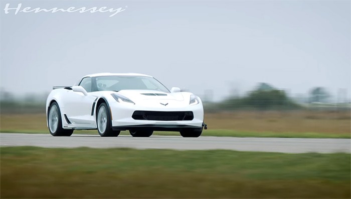 [VIDEO] Hennessey Offers Detailed Test of HPE1000 C7 Corvette Z06