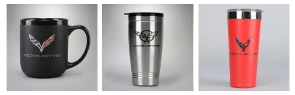 C1-C8 Corvette Mugs and Travel Bottles