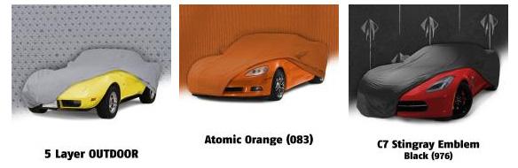 C1-C8 Corvette Car Covers