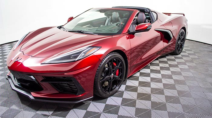 This Loaded 2020 Corvette Stingray Z51 Coupe Will Be Given Away Next Month