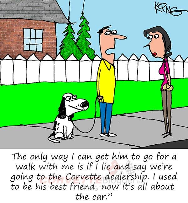 Saturday Morning Corvette Comic: Man's Best Friend
