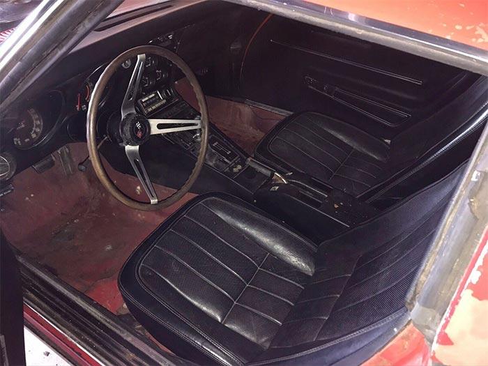 Corvettes on eBay: 1968 Corvette 427 Barn Find