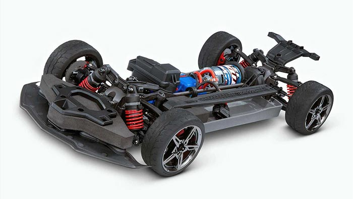 [VIDEO] Traxxas Shows Off New Radio Controlled C8 Corvette Model Coming in May