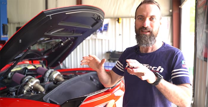 [VIDEO] FuelTech Sets a New World Record for Horsepower on the C8 Corvette