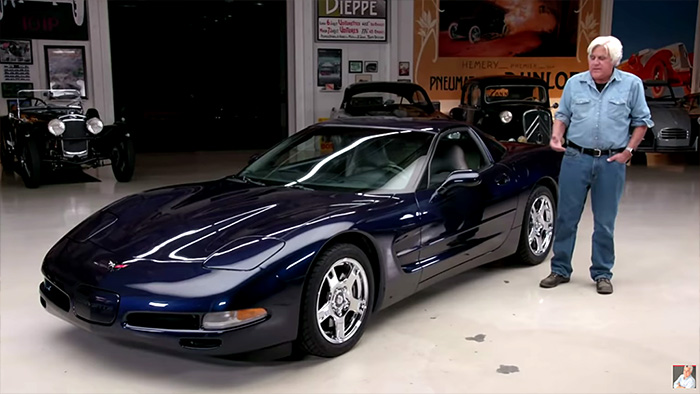 [VIDEO] Jay Leno Loves his C5 1999 Corvette