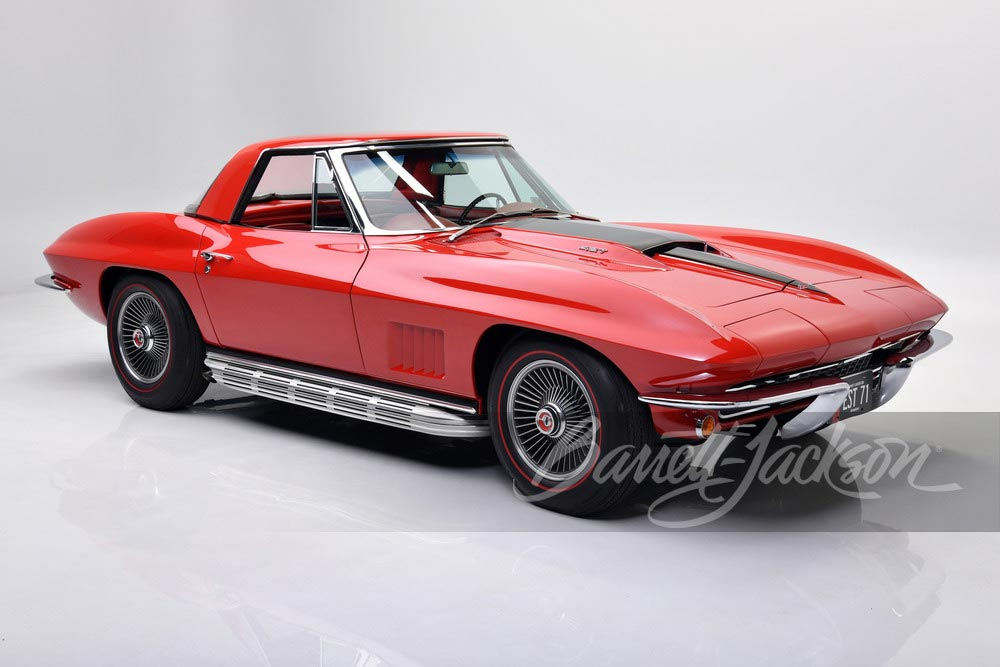 1967 Red/Red 427/435 Convertible