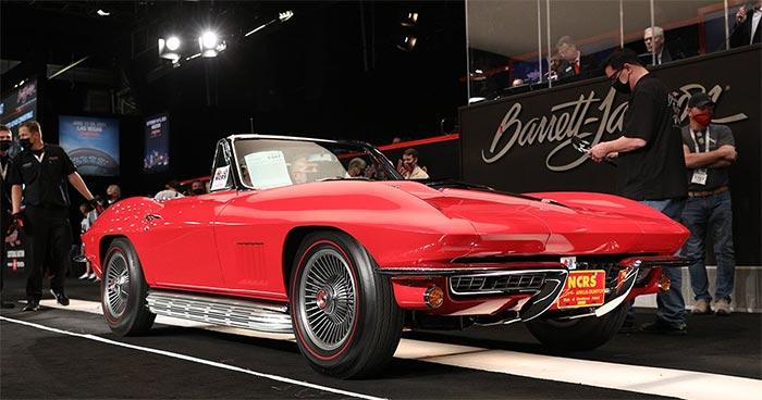The Top 11 Corvette Sales at Barrett-Jackson Scottsdale