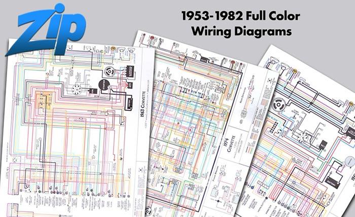 1953-1982 Full Color Wiring Diagrams
