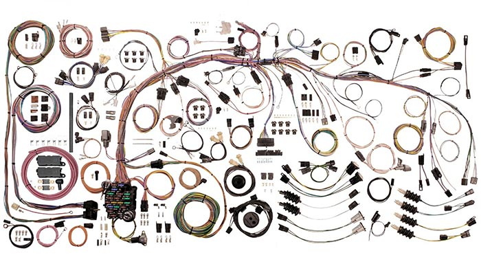 1968-76 Custom RestoMod Wiring Harness Package