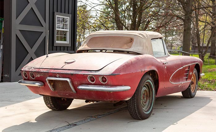 Corvettes for Sale: 1961 Corvette Owned by Same Family for 56 Years
