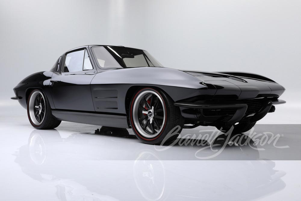 1963 Black/Black Restomod