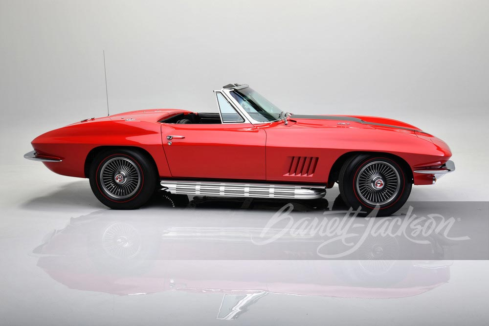 1967 Red/Black 427/435 Convertible