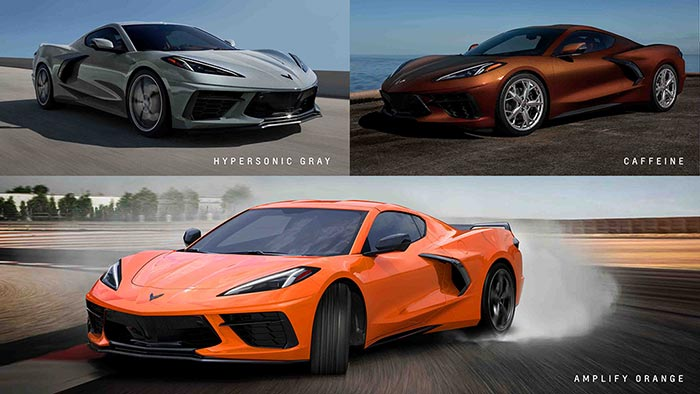 [PICS] The Three New Colors for the 2022 Corvette Are Officially Revealed at the NCM Bash