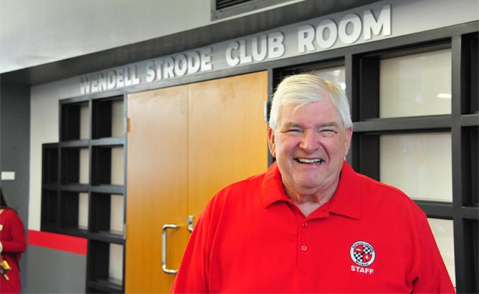 National Corvette Museum Dedicates the Wendell Strode Club Room
