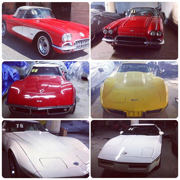 Enter By May 3rd To WIN The Lost Corvettes. Our Readers Get Double ENTRIES!