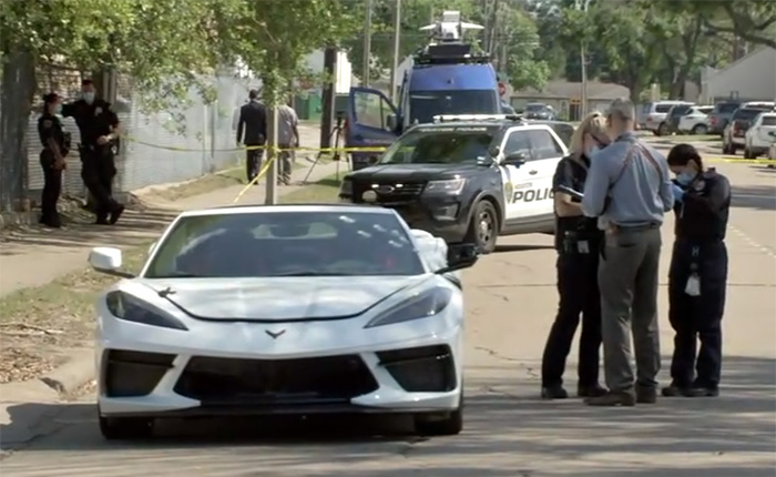 [VIDEO] C8 Corvette Driver Killed In Drive-By Shooting in Houston