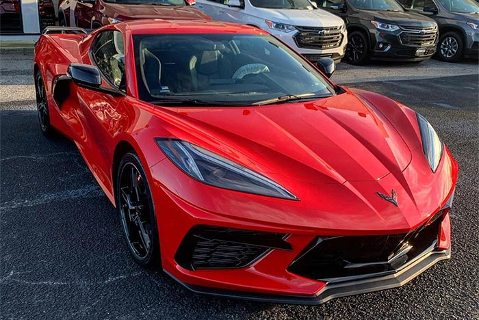Torch Red is the Top Color Choice for the 2021 Corvette But Red Mist is On the Rise